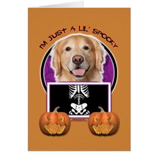 Halloween - apenas un Lil fantasmagórico - golden
