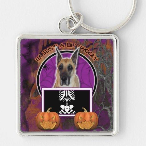 Halloween - apenas un Lil fantasmagórico - great d Llavero Personalizado
