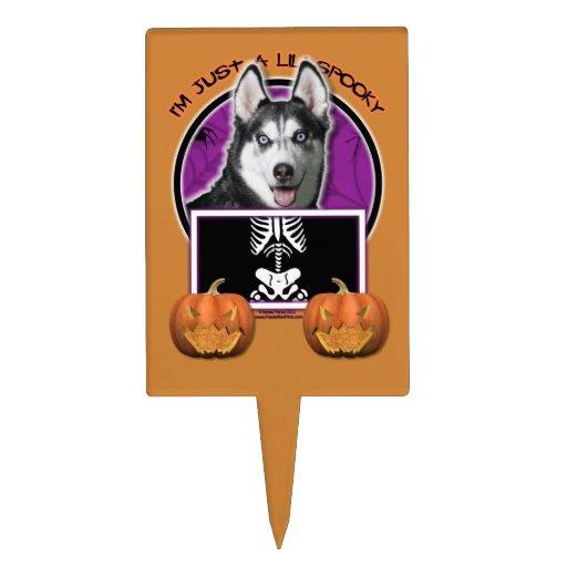 Halloween - apenas un Lil fantasmagórico - husky s Decoraciones Para Tartas