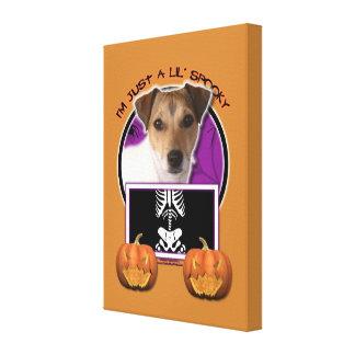 Halloween - apenas un Lil fantasmagórico - Jack Ru Impresiones En Lienzo Estiradas