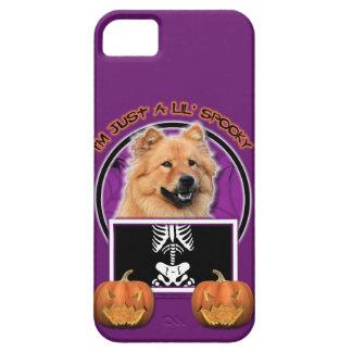 Halloween - apenas un Lil fantasmagórico - perro c iPhone 5 Cárcasas