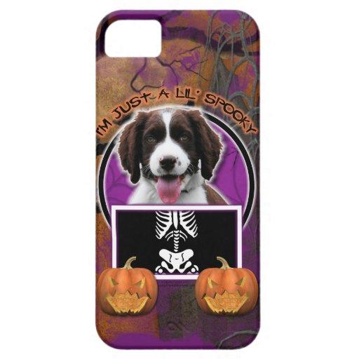 Halloween - apenas un Lil fantasmagórico - perro iPhone 5 Fundas