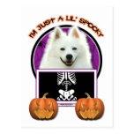 Halloween - apenas un Lil fantasmagórico - Postal