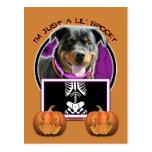 Halloween - apenas un Lil fantasmagórico - Rottie Postal