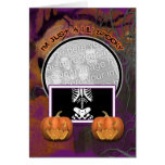 Halloween - apenas un Lil fantasmagórico Tarjetas