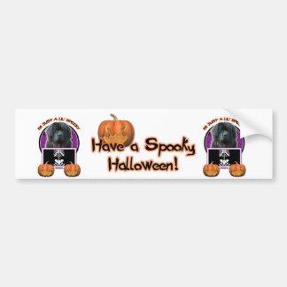 Halloween - apenas un Lil fantasmagórico - Terrano Pegatina De Parachoque