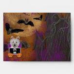 Halloween - apenas un Lil fantasmagórico - Westie