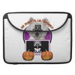 Halloween - apenas un Lil fantasmagórico - Westie  Funda Macbook Pro