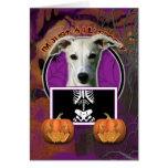 Halloween - apenas un Lil fantasmagórico - Whippet