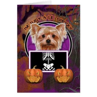 Halloween - apenas un Lil fantasmagórico - Yorkie