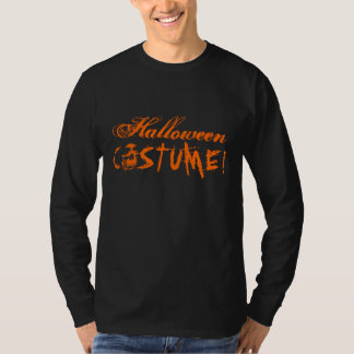 Halloween apparel for men | black and orange skull T-Shirt