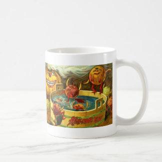 Halloween Apple Bobbing Coffee Mug