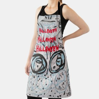 Halloween Art Collection Apron