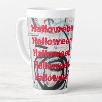 Halloween Art Collection Latte Mug