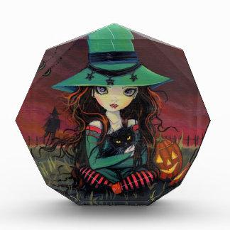 Halloween Art Little Witch Award