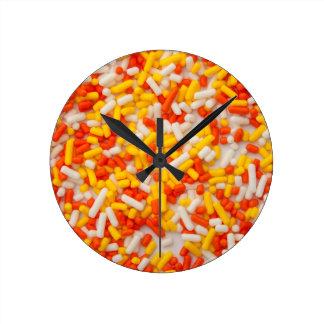 Halloween asperja 2 reloj de pared