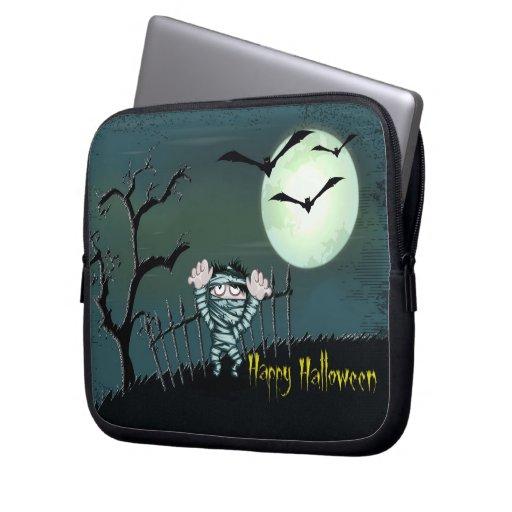 Halloween asustadizo funda ordendadores