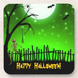 Halloween asustadizo posavasos de bebidas