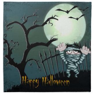 Halloween asustadizo servilletas
