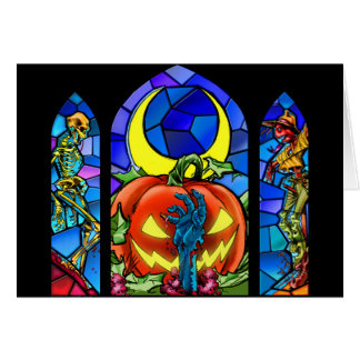 ¡Halloween asustadizo! Tarjeta De Felicitación