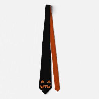 Halloween ata las corbatas de la Jack-o-linterna Corbata Personalizada