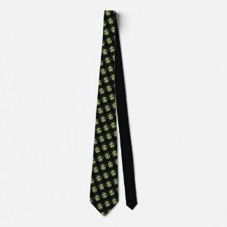 Halloween ata personalizar lindo de las corbatas corbatas
