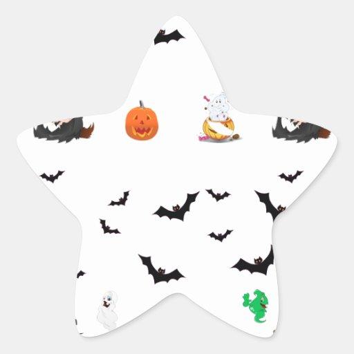 Halloween Aufkleber