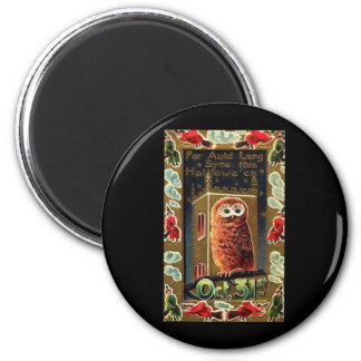 Halloween Auld Lang Syne 2 Inch Round Magnet