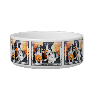 Halloween - Aussie - Oscar & Felix Pet Food Bowl