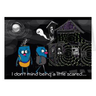 Halloween autism charity card