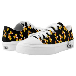 Halloween autumn fall candy corn pieces Low-Top sneakers