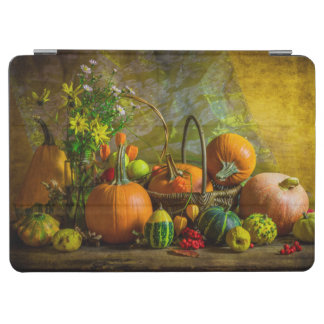 Halloween Autumn Fall Pumpkin Setting Table iPad Air Cover