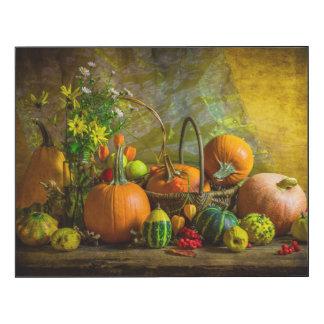 Halloween Autumn Fall Pumpkin Setting Table
