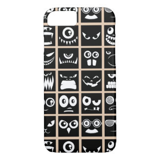Halloween Avatars - Black iPhone 7 Case