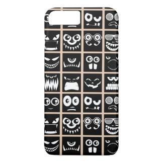 Halloween Avatars - Black iPhone 7 Plus Case
