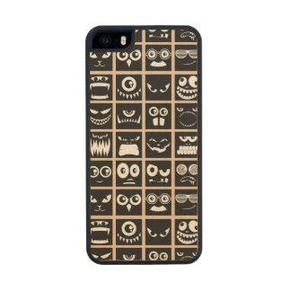 Halloween Avatars - Black Wood Phone Case For iPhone SE/5/5s
