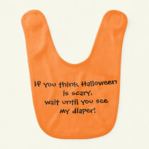 """Halloween"" Baby Bib"