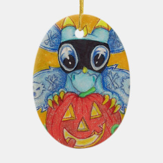 Halloween Baby Fairy Dragon Fun Ornament