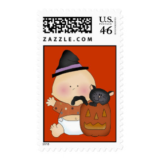 Halloween Baby Postage