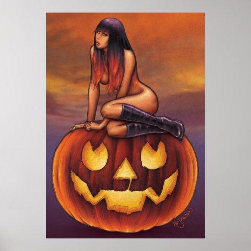Halloween Baby Print