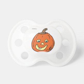 Halloween Baby Pumpkin Pacifier BooginHead Pacifier