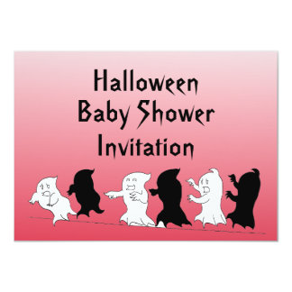 halloween baby shower invitations announcements zazzle