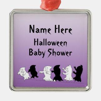 halloween baby shower keepsake ornament purple