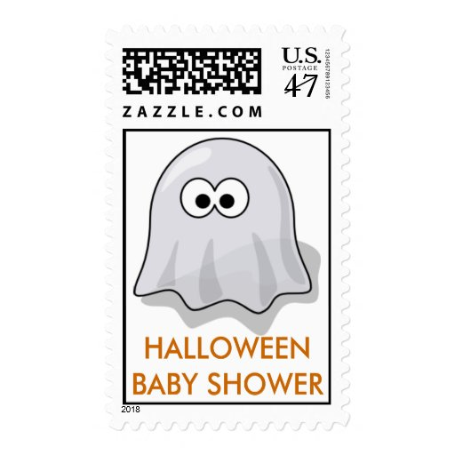 halloween baby shower postage stamps zazzle