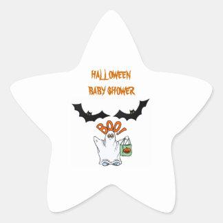 Halloween Baby Shower Stickers