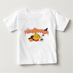 Halloween Baby T-shirt at Zazzle
