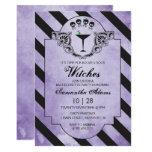 Halloween Bachelorette Party Invitation - Purple