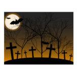 Halloween Background Postcard