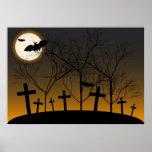 Halloween Background Poster