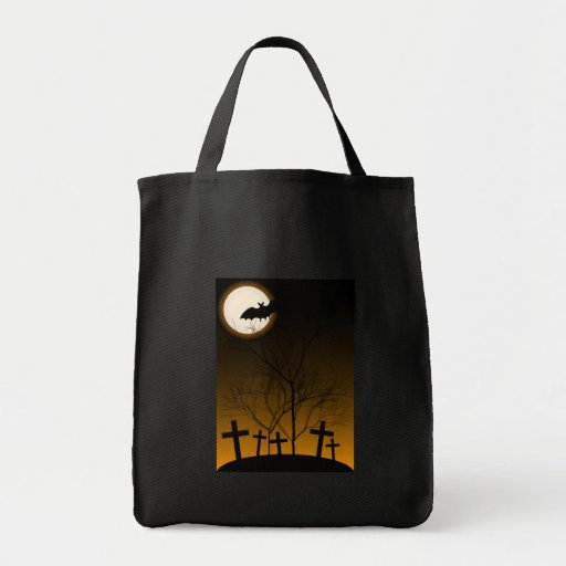Halloween Background Tote Bag